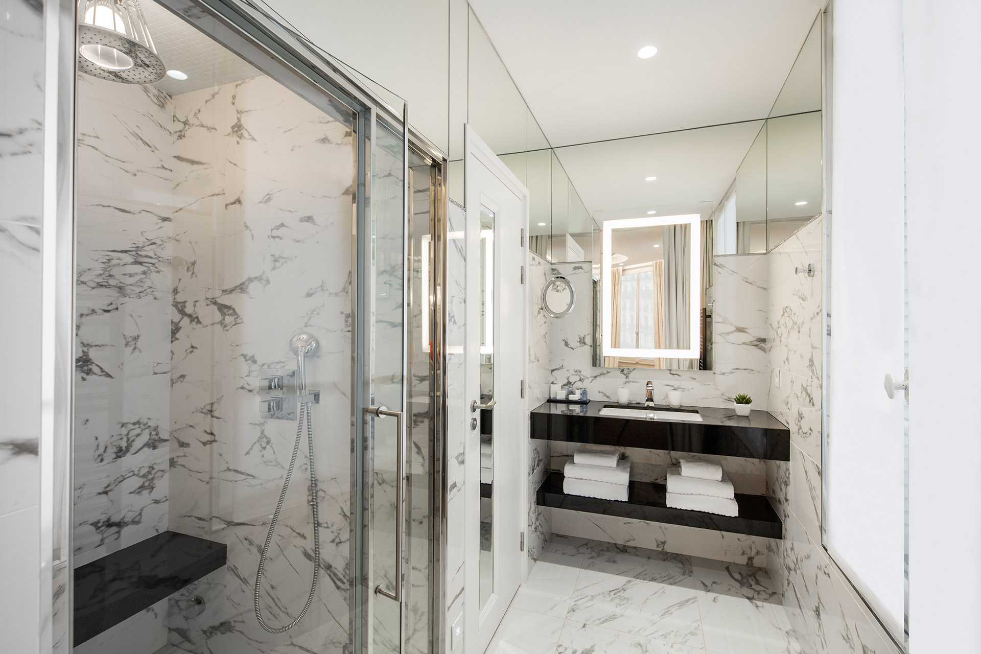 Maison Albar Hotels Le Diamond salle de bain Suite Diamond